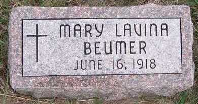 BEUMER, MARY LAVINA - Sioux County, Iowa | MARY LAVINA BEUMER