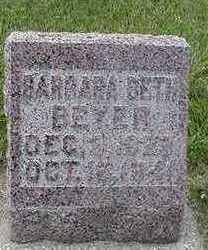BEYER, BARBARA BETH - Sioux County, Iowa | BARBARA BETH BEYER