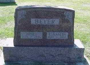 BEYER, ELIZABETH - Sioux County, Iowa | ELIZABETH BEYER