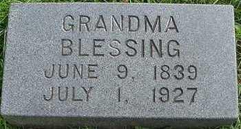 BLESSING, GRANDMA - Sioux County, Iowa | GRANDMA BLESSING