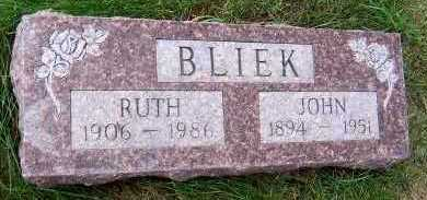 BLIEK, JOHN - Sioux County, Iowa | JOHN BLIEK