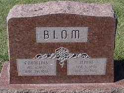 BLOM, JENNIE (MRS. CORNELIUS) - Sioux County, Iowa | JENNIE (MRS. CORNELIUS) BLOM