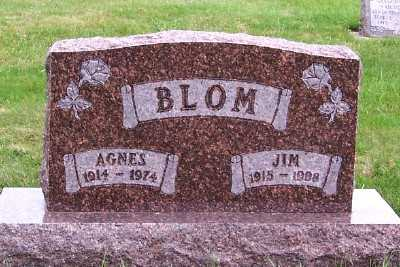 BLOM, JIM (1915-1998) - Sioux County, Iowa | JIM (1915-1998) BLOM