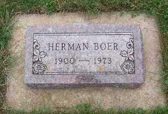 BOER, HERMAN - Sioux County, Iowa | HERMAN BOER