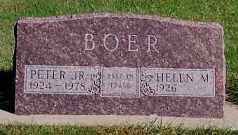 BOER, PETER JR. - Sioux County, Iowa | PETER JR. BOER