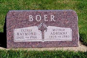 BOER, RAYMOND - Sioux County, Iowa | RAYMOND BOER
