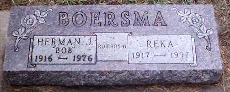 BOERSMA, HERMAN J (BOB) - Sioux County, Iowa | HERMAN J (BOB) BOERSMA