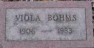 BOHM, VIOLA - Sioux County, Iowa | VIOLA BOHM