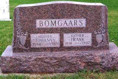 BOMGAARS, JOHANNA - Sioux County, Iowa | JOHANNA BOMGAARS