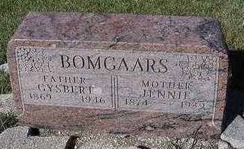 BOMGAARS, JENNIE - Sioux County, Iowa | JENNIE BOMGAARS