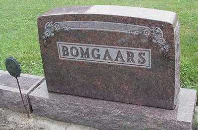 BOMGAARS, HEADSTONE - Sioux County, Iowa | HEADSTONE BOMGAARS