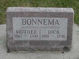BONNEMA, DICK - Sioux County, Iowa | DICK BONNEMA