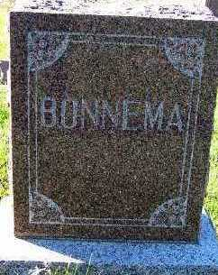 BONNEMA, HEADSTONE - Sioux County, Iowa | HEADSTONE BONNEMA