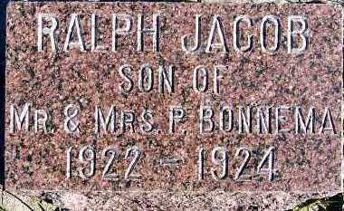 BONNEMA, RALPH JACOB - Sioux County, Iowa | RALPH JACOB BONNEMA