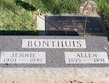 BONTHUIS, JENNIE - Sioux County, Iowa | JENNIE BONTHUIS
