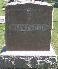 BONTHUIS, HEADSTONE - Sioux County, Iowa | HEADSTONE BONTHUIS