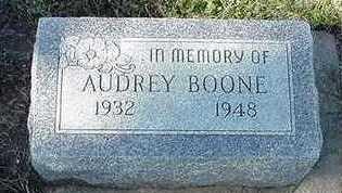 BOONE, AUDREY - Sioux County, Iowa | AUDREY BOONE