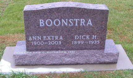BOONSTRA, ANN (MRS. DICK) - Sioux County, Iowa | ANN (MRS. DICK) BOONSTRA