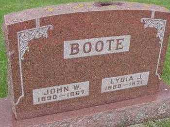 BOOTE, LYDIA - Sioux County, Iowa | LYDIA BOOTE