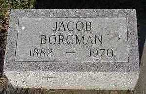 BORGMAN, JACOB - Sioux County, Iowa | JACOB BORGMAN