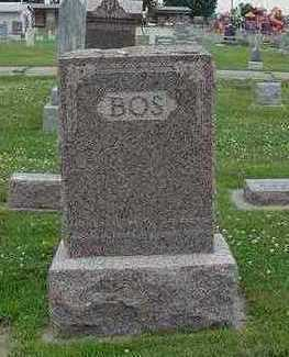 BOS, HEADSTONE - Sioux County, Iowa | HEADSTONE BOS