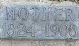 BOWEN, MOTHER 1908 - Sioux County, Iowa   MOTHER 1908 BOWEN