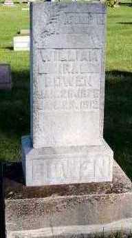 BOWEN, WILLIAM IRA - Sioux County, Iowa | WILLIAM IRA BOWEN