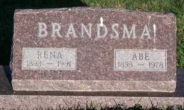 BRANDSMA, ABE - Sioux County, Iowa | ABE BRANDSMA