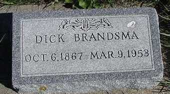 BRANDSMA, DICK - Sioux County, Iowa | DICK BRANDSMA