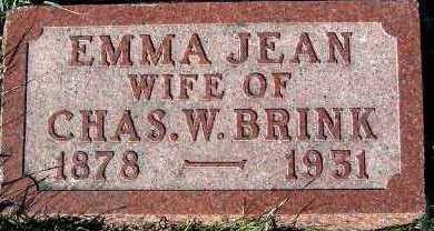 BRINK, EMMA JEAN (MRS. CHAS.W.) - Sioux County, Iowa | EMMA JEAN (MRS. CHAS.W.) BRINK