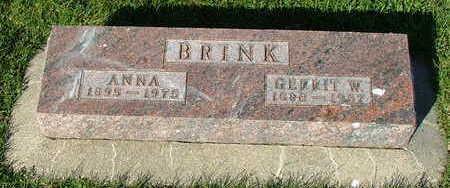 BRINK, GERRIT W. - Sioux County, Iowa | GERRIT W. BRINK