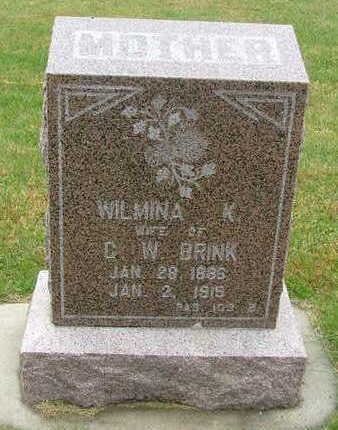 BRINK, WILMA K. - Sioux County, Iowa | WILMA K. BRINK
