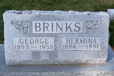 BRINKS, HERMINA - Sioux County, Iowa | HERMINA BRINKS