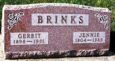 BRINKS, GERRIT - Sioux County, Iowa | GERRIT BRINKS