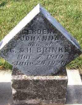 BRINKS, GERDENA JOHANNA - Sioux County, Iowa | GERDENA JOHANNA BRINKS