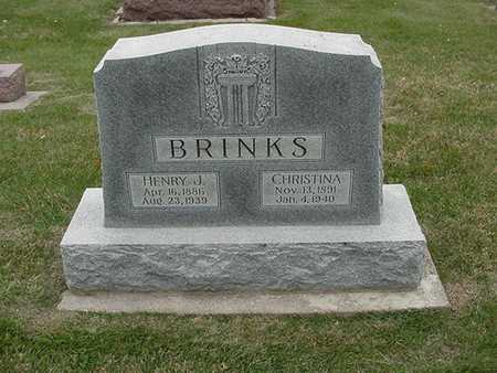 BRINKS, CHRISTINA (MRS. HENRY) - Sioux County, Iowa | CHRISTINA (MRS. HENRY) BRINKS