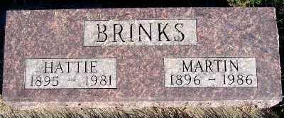 BRINKS, HATTIE - Sioux County, Iowa | HATTIE BRINKS