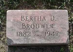 BROUWER, BERTHA - Sioux County, Iowa | BERTHA BROUWER