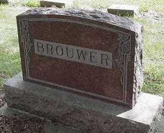 BROUWER, HEADSTONE - Sioux County, Iowa | HEADSTONE BROUWER