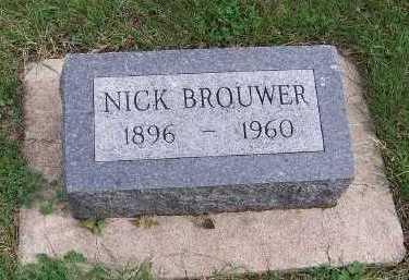 BROUWER, NICK - Sioux County, Iowa | NICK BROUWER