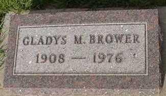BROWER, GLADYS M. - Sioux County, Iowa   GLADYS M. BROWER