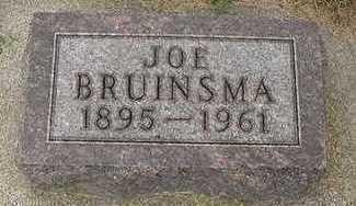 BRUINSMA, JOE - Sioux County, Iowa | JOE BRUINSMA