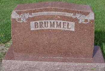BRUMMEL, HEADSTONE - Sioux County, Iowa | HEADSTONE BRUMMEL