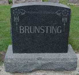 BRUNSTING, HEADSTONE - Sioux County, Iowa | HEADSTONE BRUNSTING