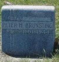 BRUNSTING, PETER H. - Sioux County, Iowa | PETER H. BRUNSTING