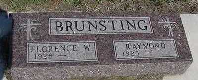 BRUNSTING, FLORENCE - Sioux County, Iowa | FLORENCE BRUNSTING