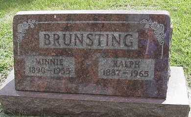 BRUNSTING, MINNIE - Sioux County, Iowa | MINNIE BRUNSTING