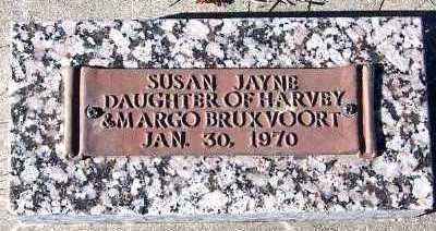 BRUXVOORT, SUSAN JAYNE - Sioux County, Iowa | SUSAN JAYNE BRUXVOORT