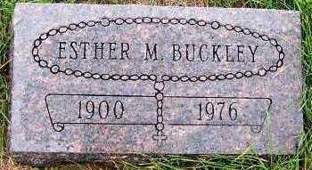 BUCKLEY, ESTHER M. - Sioux County, Iowa | ESTHER M. BUCKLEY