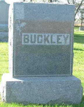 BUCKLEY, HEADSTONE FAMILY - Sioux County, Iowa | HEADSTONE FAMILY BUCKLEY